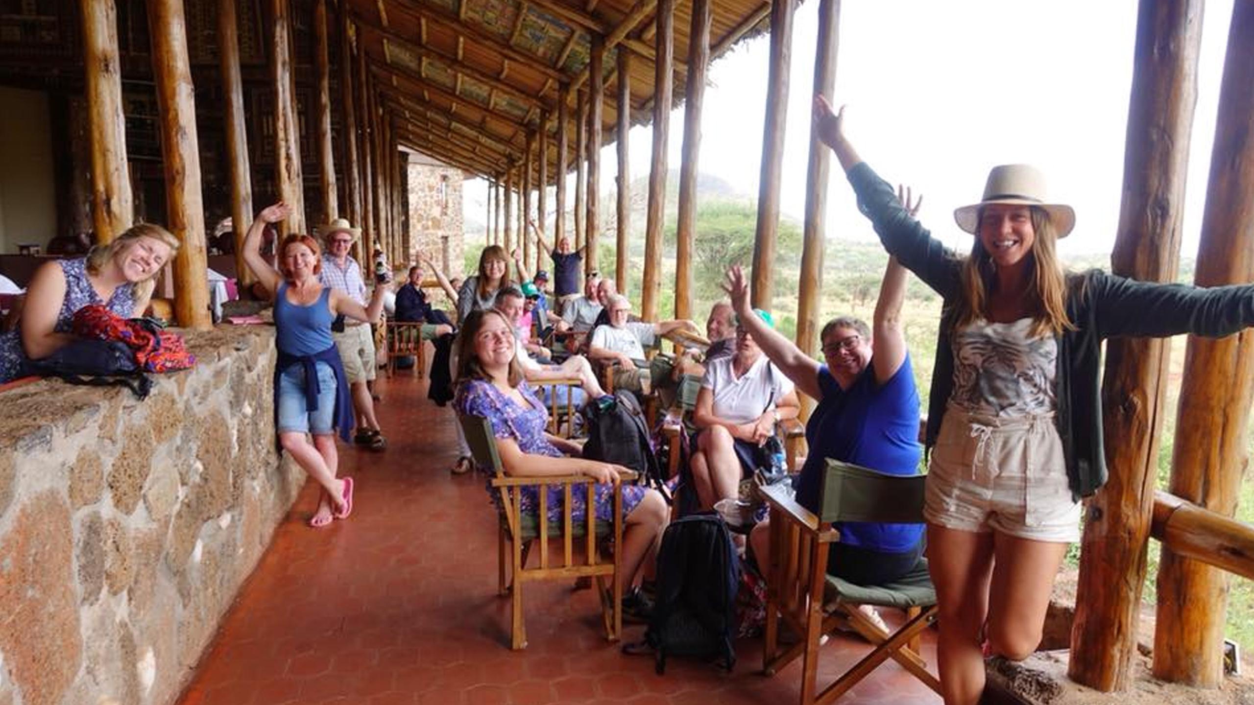 Visitando o parque nacional de Tsavo